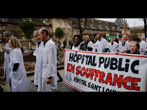 Grève à l'hôpital