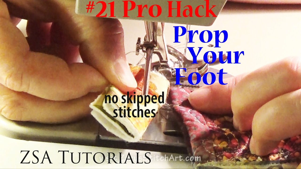 21 Pro Sewing Hack | Sewing Thick Seams | No skipped stitches or ...