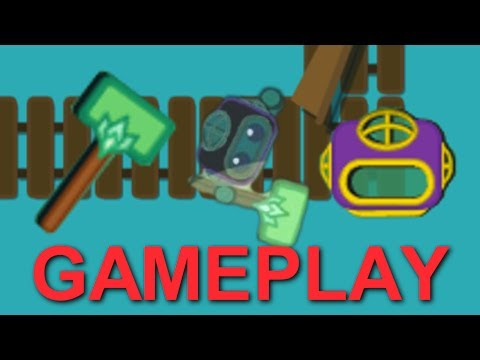 Изобрежения [Starve.io] Super Diving Suit & Super Hammer Gameplay