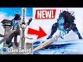 "New ""Infinity Blade"" Legendary Sword Weapon Update! (Fortnite Live Gameplay)"