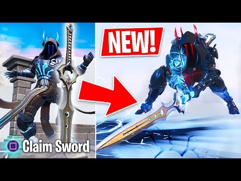 "New ""Infinity Blade"" Legendary Sword Weapon Update! (Fortnite Live Gameplay) thumbnail"