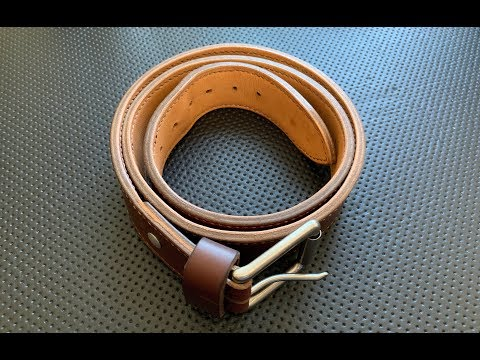 The K&H Leather Double-Layer Belt: The Full Nick Shabazz Review