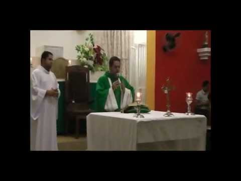 Santa Missa dia 15 de Julho de 2012