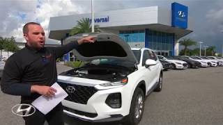 Car Review & Test Drive 2019 Hyundai Santa Fe SE