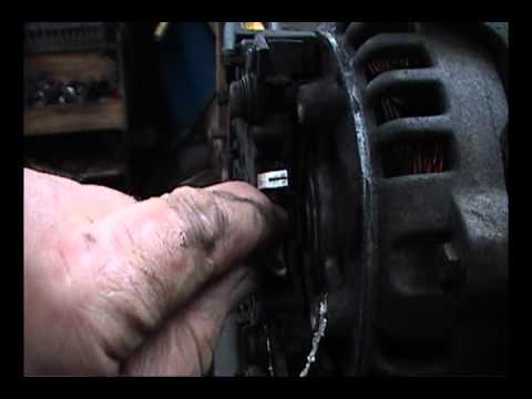 how to repair a alternator on a citeron berlingo /peugot partner van -  youtube