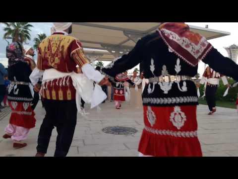 Hatay Büyükşehir Belediyesi Halk Oyunları Ekibi Expo 2016 Antalya'da