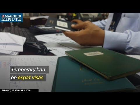 Temporary ban on expat visas