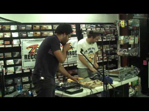 Busdriver @ Zia Records in Tempe AZ