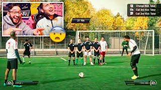 REACCIONANDO BUGS y FAILS DE FIFA EN la VIDA REAL *muy parecidos...*
