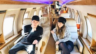 24 HOURS IN A $1,000,000 PRIνATE JET