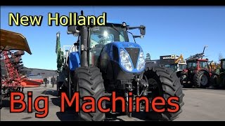 New Holland  T6080 Monster Tractor New Holland T6080 traktori