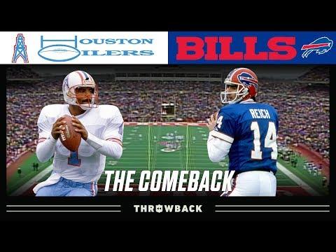 """""""The Comeback"""" (Oilers vs. Bills 1992 AFC Wild Card)"""