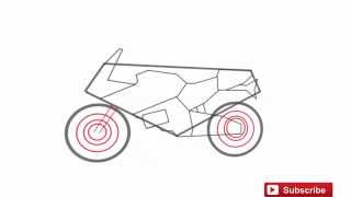 How to Draw a Bike Easy Step by Step
