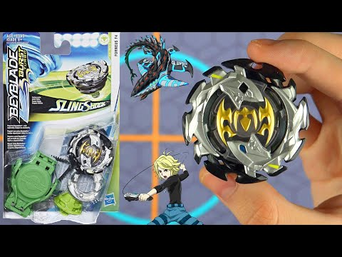 EMPEROR FORNEUS F4 HASBRO BEYBLADE TURBO SLINGSHOCK UNBOXING REVIEW TESTING
