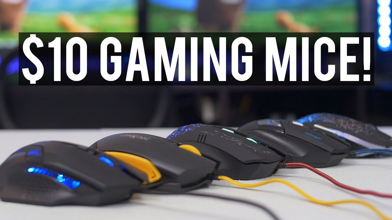 Potato Tech: Finding the Best Gaming Mouse Under $10!
