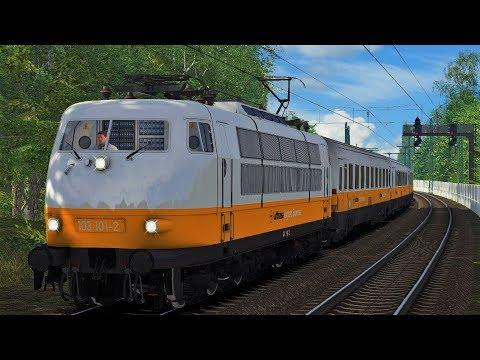 Let's Play Train Simulator 2018 Lufthansa Airport Express Sonderzug BR 103 101-2 Hamburg - Hannover