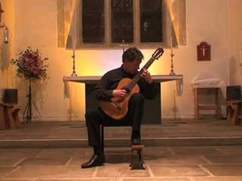 Paul Gregory. Capricho Arabe. Tarrega. Torres Guitar (1890)