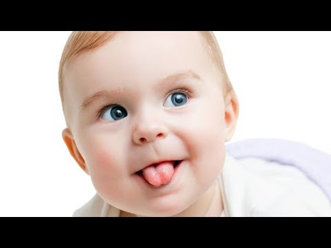 Funny Baby Sticking Tongue Out - Funny Cute Video
