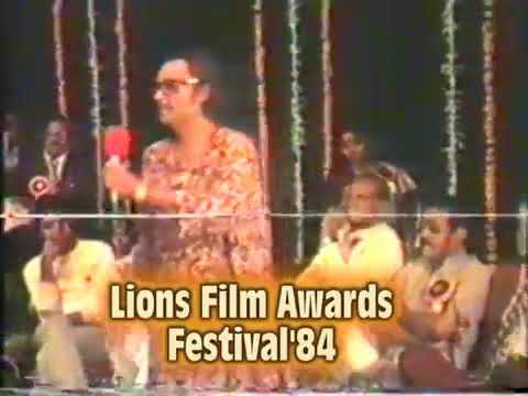 RARE VIDEO || Lions awards festivals || 1984 || kishore da live with asha bhosle 💝💝
