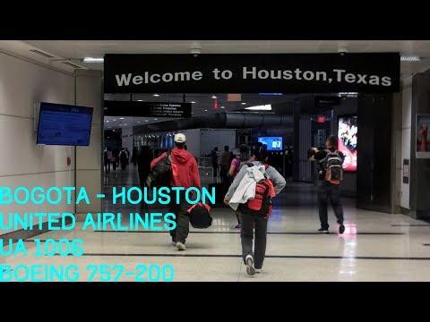 Boeing 757-200 | United Airlines | BOG-IAH | Bogota-Houston