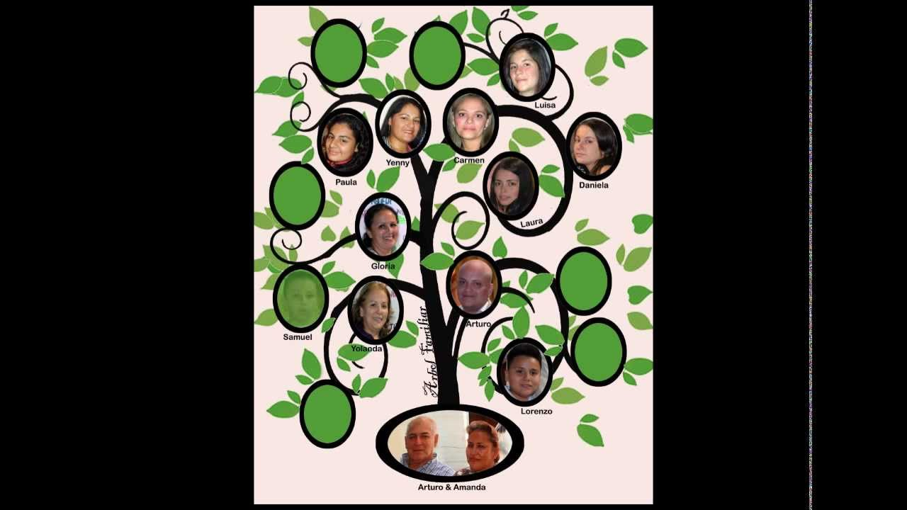 Arbol Familiar Youtube