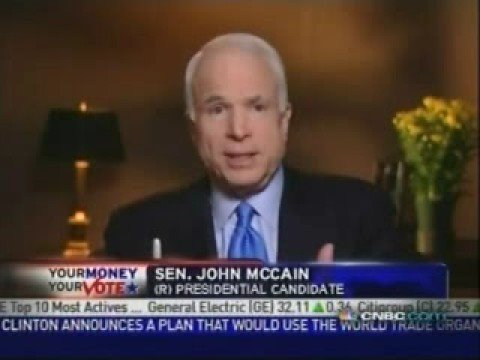 John McCain on the Community Reinvestment Act