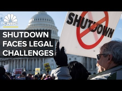 The Government Shutdown Faces Lawsuits Over 'Involuntary Servitude'
