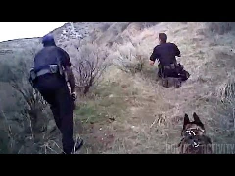 Bodycam Captures  Intense Scene During Police Shootout in Idaho