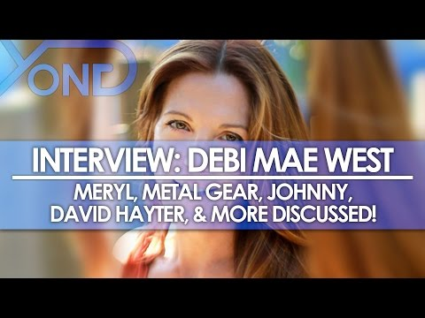 The Codec - Debi Mae West Interview: Meryl, Metal Gear, Johnny, David Hayter, & More Discussed!