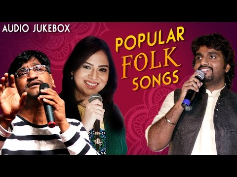 Popular Marathi Folk Songs | Adarsh Shinde, Bela Shende, Ajay Atul | Audio Jukebox