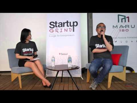 Bongjin Kim (Woowa Brothers) at Startup Grind Seoul