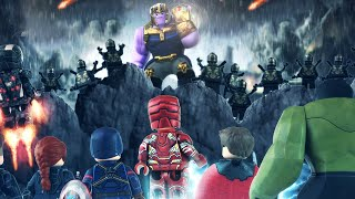 LEGO Avengers vs THANOS Final Battle Finall Scene
