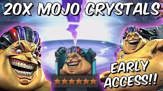 20x 5 and 6 Star Mojo Early Access Cavalier & GM Crystal Opening!! - Marvel Contest of Champions