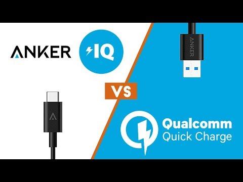 Quick Charge 3.0 vs. PowerIQ 2.0 (charging test)
