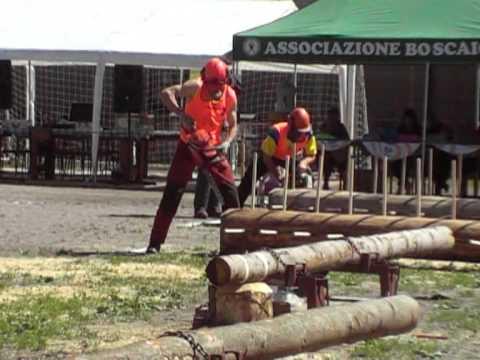 Boscaioli gara a Niardo il 19.06.2011