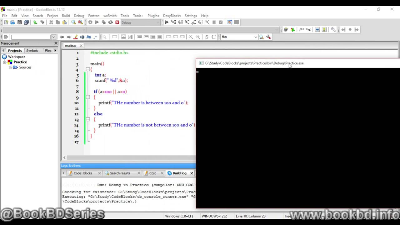 c programming tutorial in bangla | Control Statement Conditional Statement  Multiple Conditions C01
