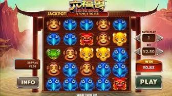 Liu Fu Shou -  playtech slot game