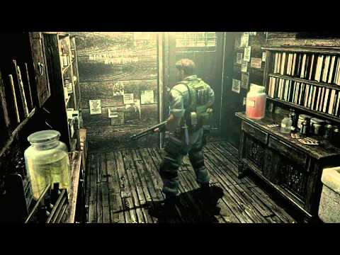 Resident Evil Remake HD Remaster (PC) 60FPS Chris PART 4 - Residence, Aqua Ring and Plant 42
