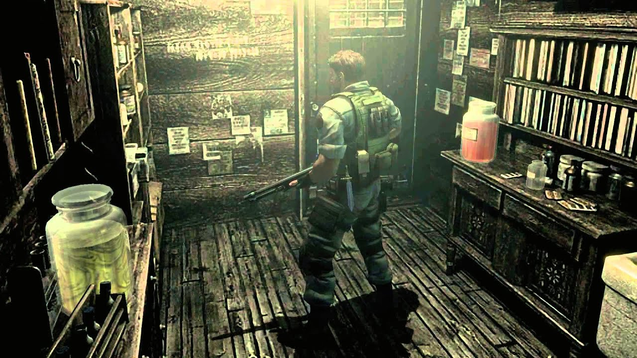 Resident Evil Remake HD Remaster (PC) 60FPS Chris PART 4