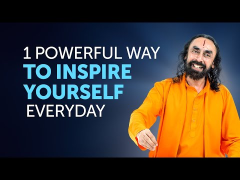 How to Give your Best in Anything? 1 Powerful Way to Inspire Yourself Everyday by Swami Mukundananda