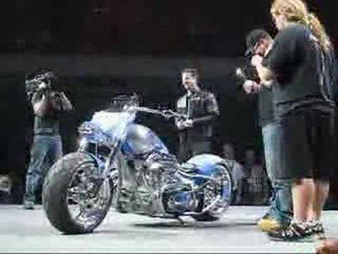 La Moto De Intel Y American Chopper Youtube