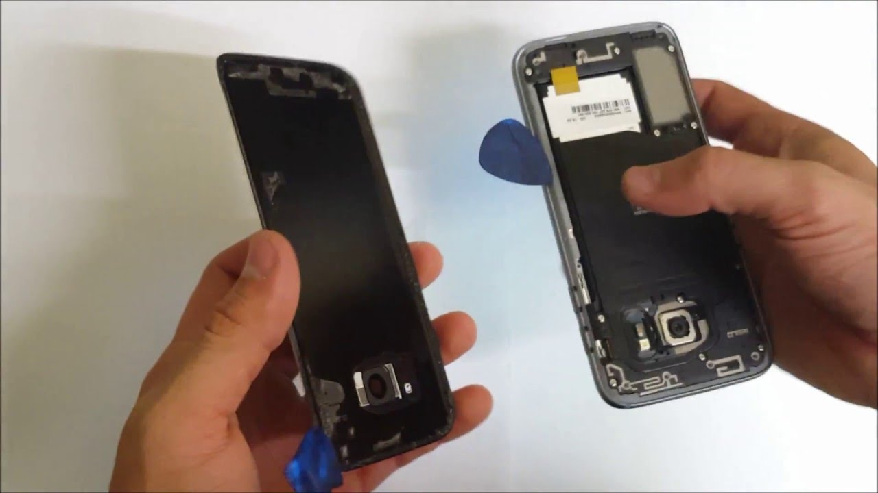 How to remove the samsung galaxy s7 back glass cover youtube how to remove the samsung galaxy s7 back glass cover jeuxipadfo Choice Image