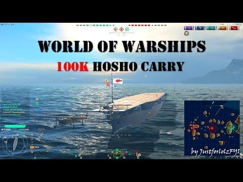 World of Warships - EPIC! [HOSHO   100.000 DMG Rampage]