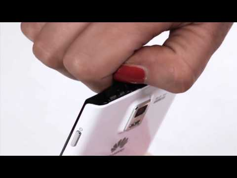 Inserting a SIM - Huawei Ascend P1 - Vodacom Tech Team