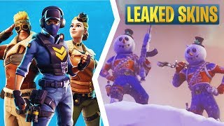 Fortnite 7.0 Leaked Skins: Waypoint, Aviation Age Set, Snowman, Emotes, & More