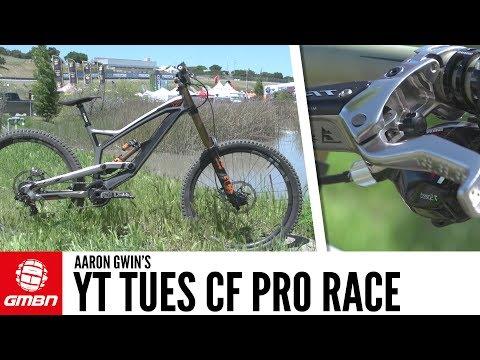 Aaron Gwin's YT Tues CF Pro Race | GMBN Pro Bikes