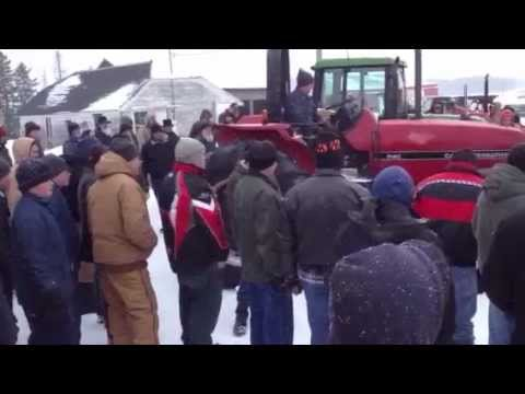 Miller N Company Auctioneers,Selling Case IH tractor!!!