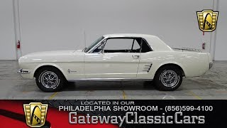 1966 Ford Mustang, Gateway Classic Cars Philadelphia - #149