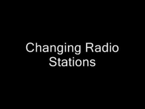 Changing Radio Station Sound Effect Static Tuning Turning Frequency