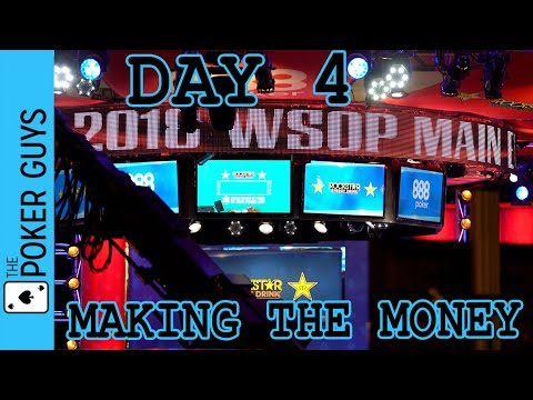 WSOP VLOG 7: Making the Money in the Main Event